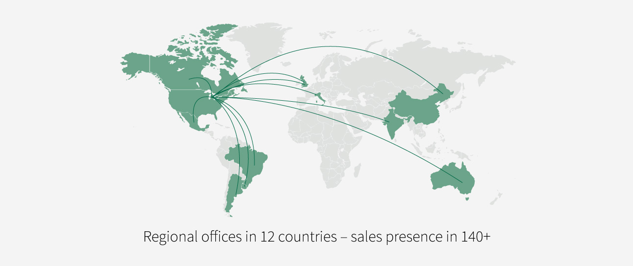 NEOGEN is a global company